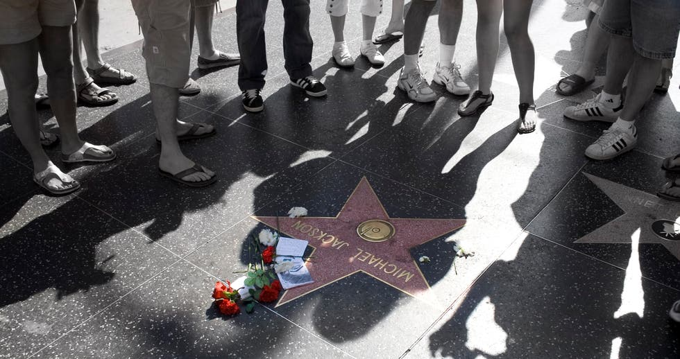 Long Distance Running in Hollywood Walk of Fame