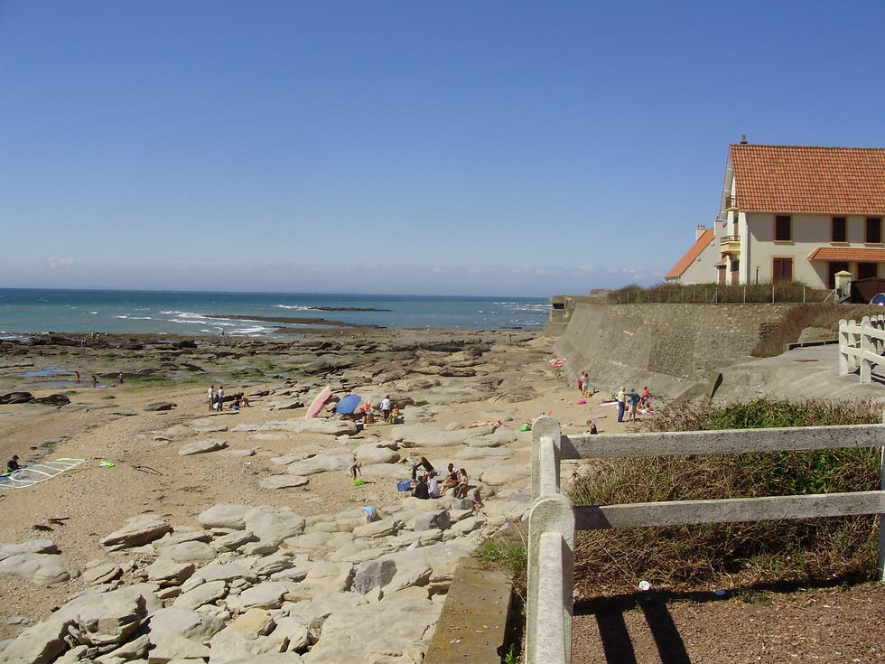 Beach in Audresselles