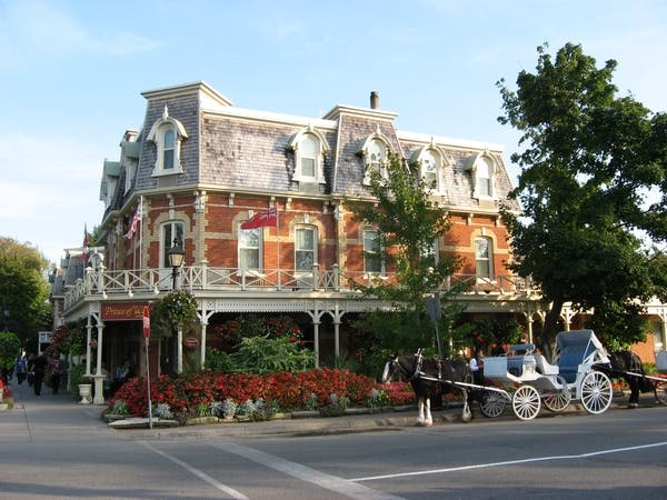 Plaza en Niagara-on-the-Lake