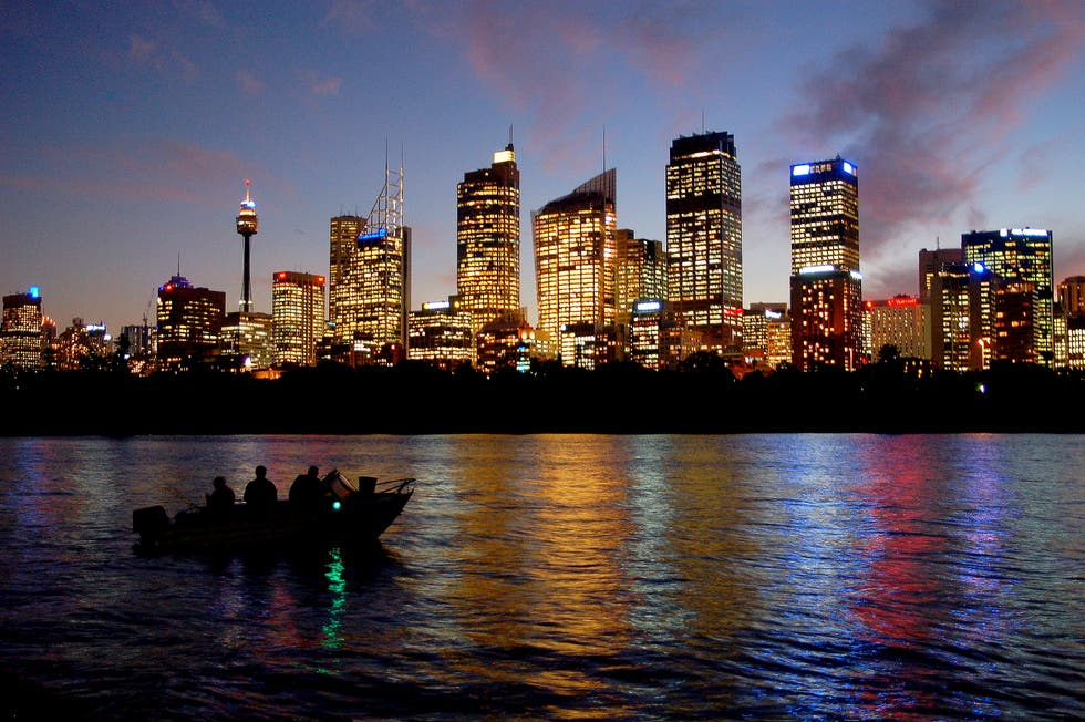 Skyline en New South Wales