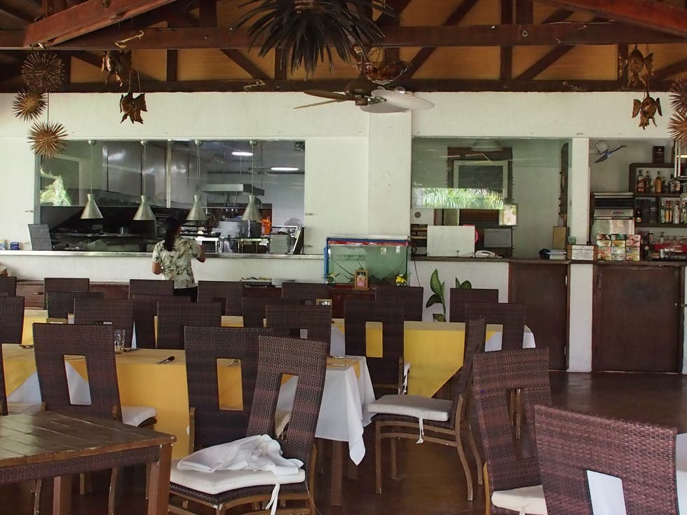 Taberna en Daluyon Beach and Mountain Resort