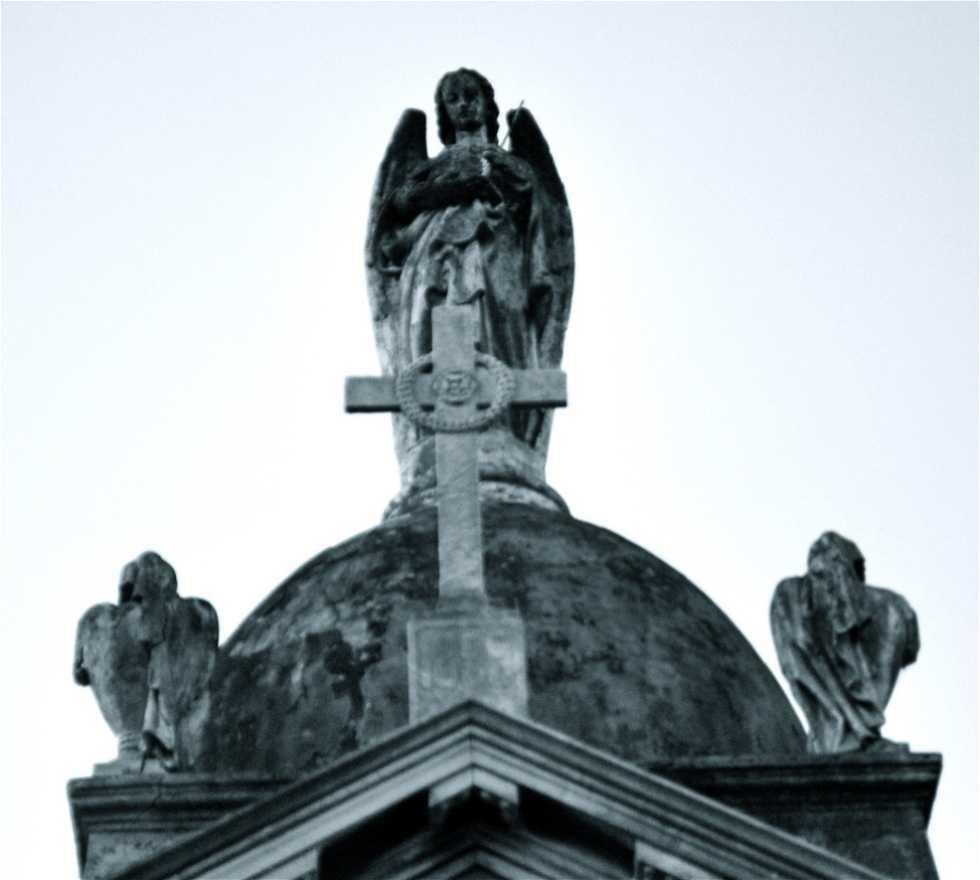 Tallado en Cementerio de La Recoleta