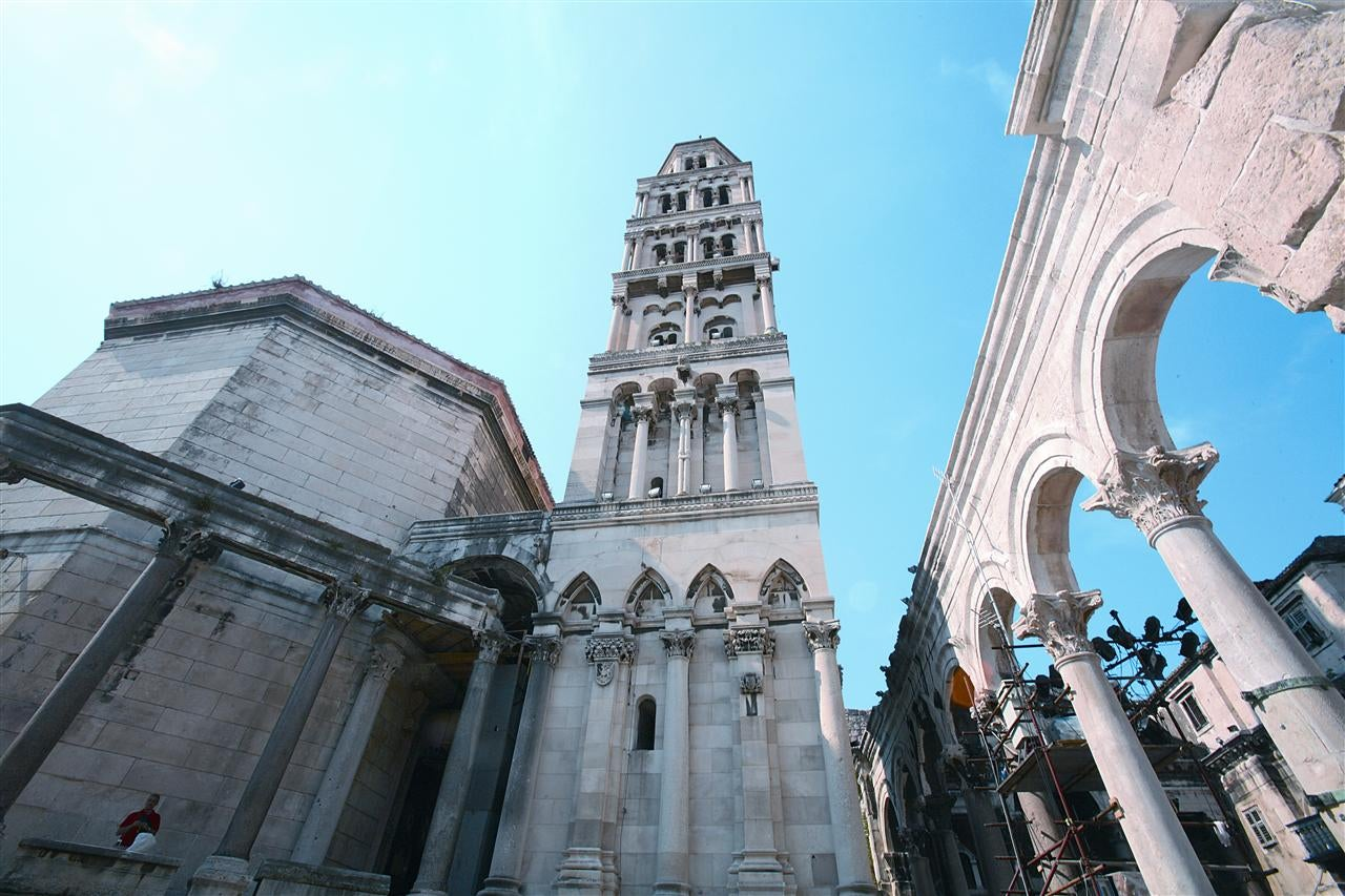 Downtown in Split