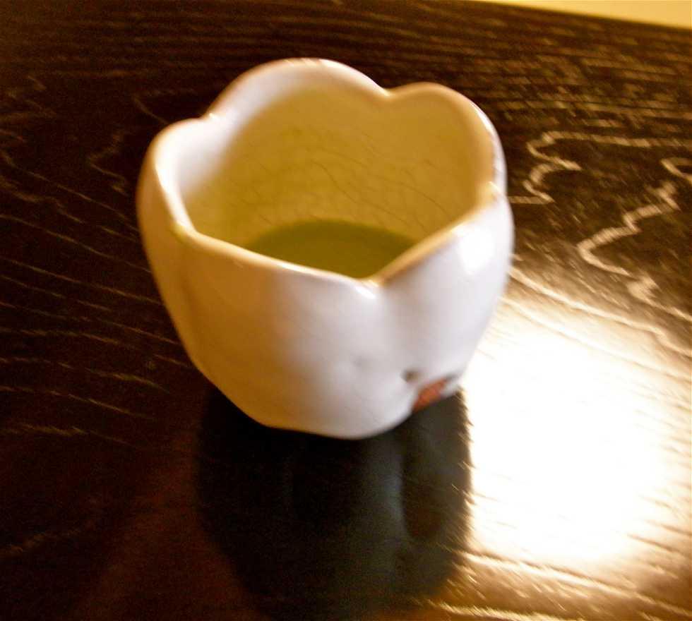 Bebida en Museo de la ceremonia del té