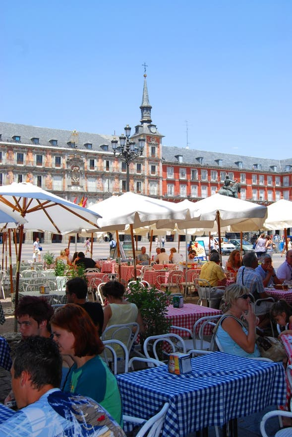 restaurantes plaza mayor madrid