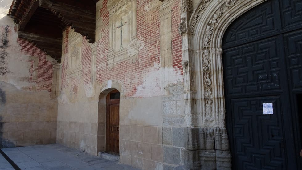 Pared en Convento de San Antonio el Real
