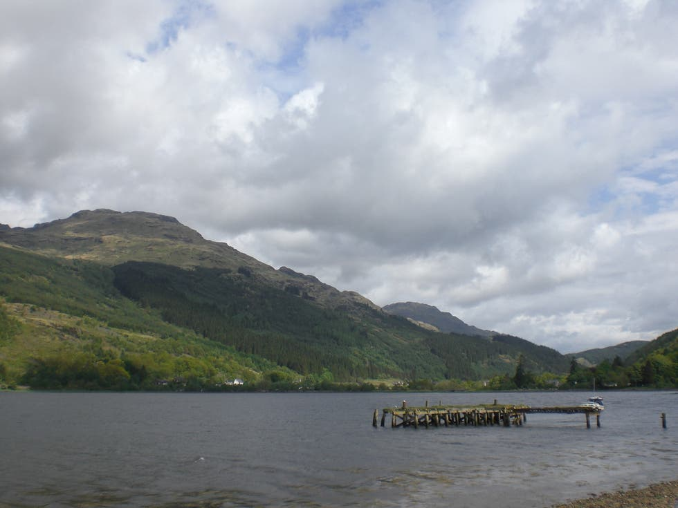 Lago en Loch Long