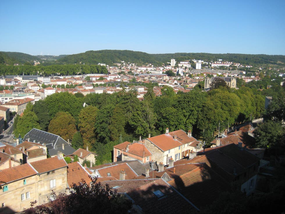 Bird's Eye View in Bar-le-Duc