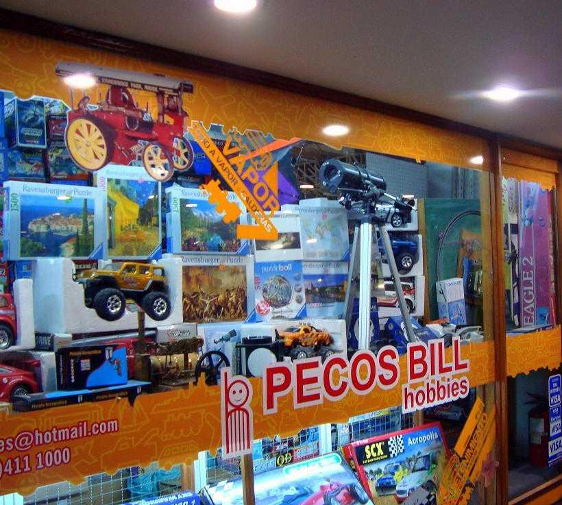 Máquina en Pecos Bill Hobbies