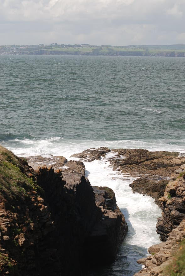 Sea in Wexford