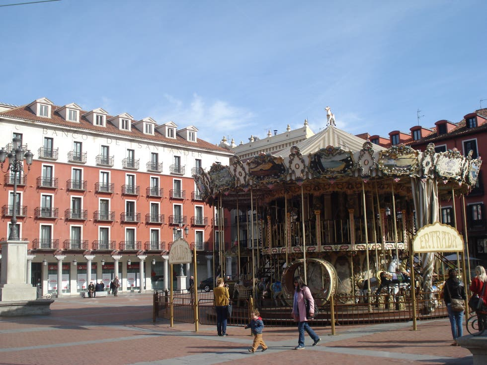 Monumento en Plaza Mayor