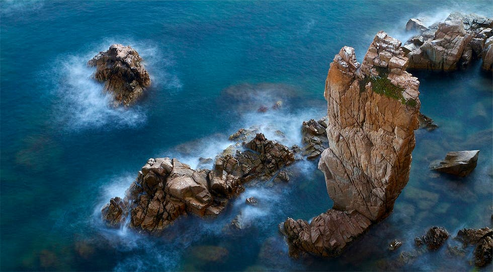 Coast in Blanes