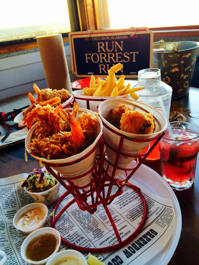 Comida en Bubba Gump Shrimp Co.