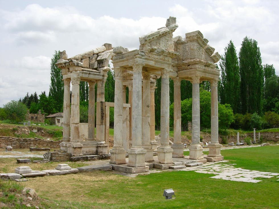 Roman Temple in Aydin