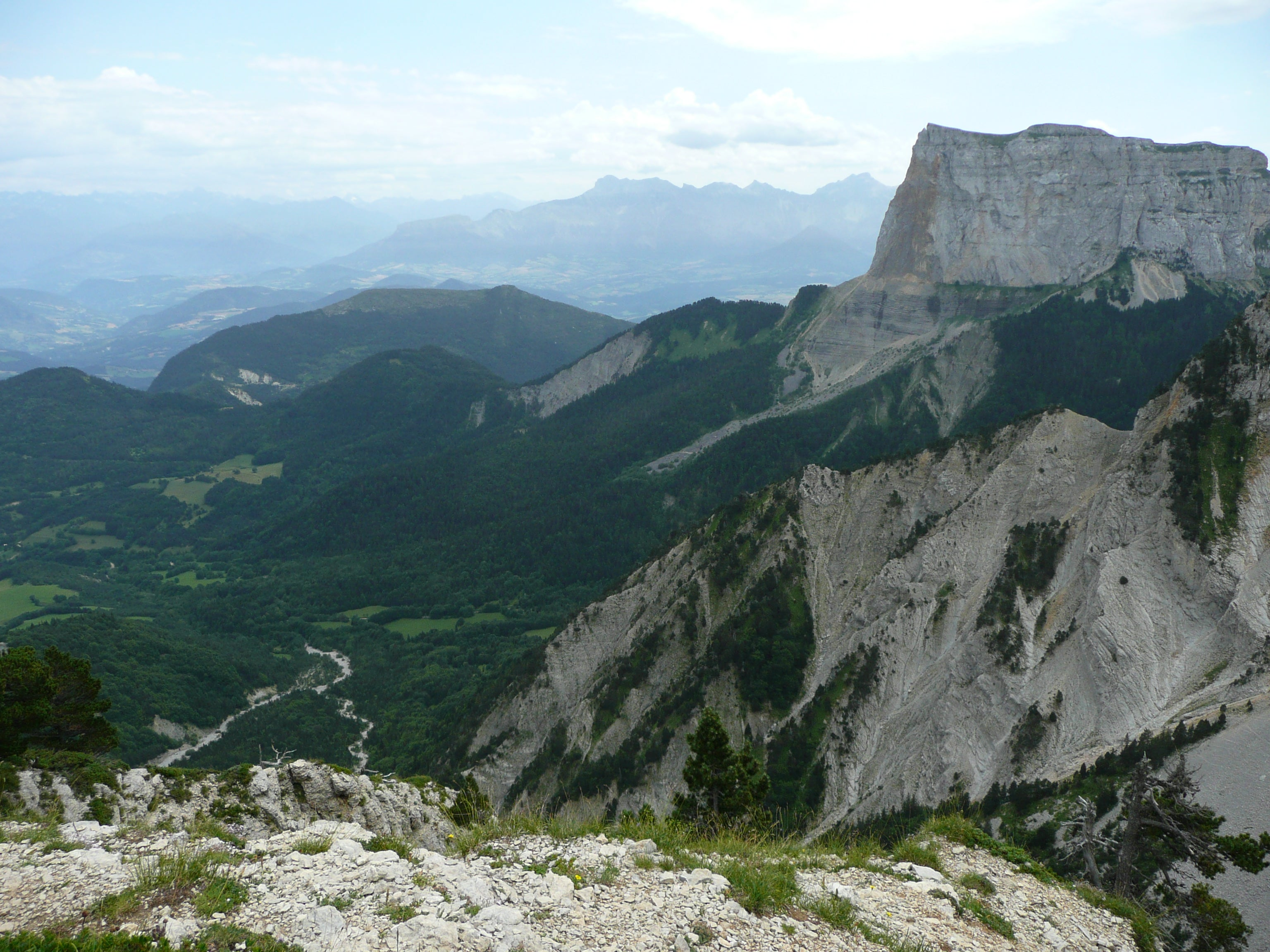 Ridge in La Chapelle-en-Vercors