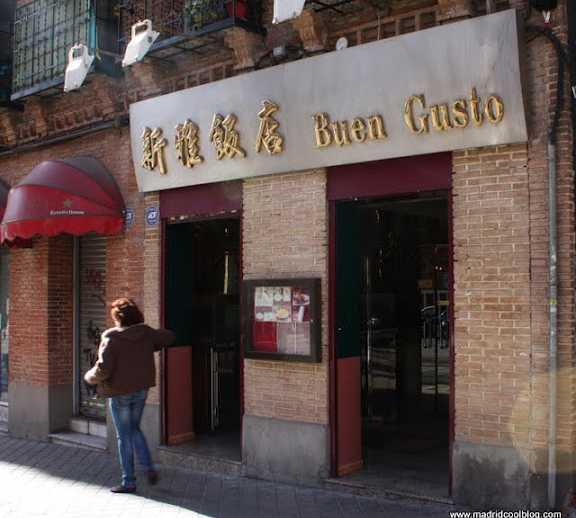 Plato en Restaurante Buen Gusto