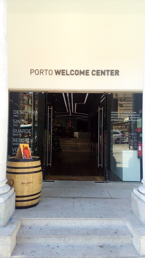 en Porto Welcome Center
