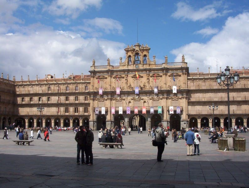 que es la plaza mayor de salamanca