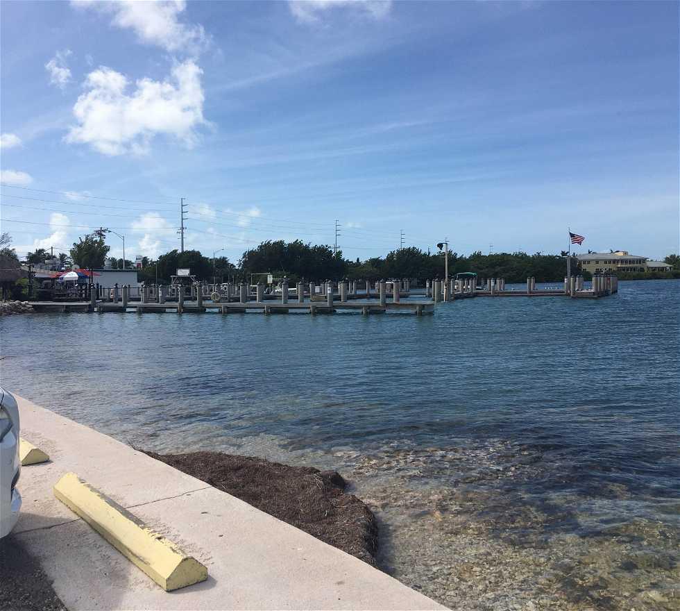 Praia em Key Largo