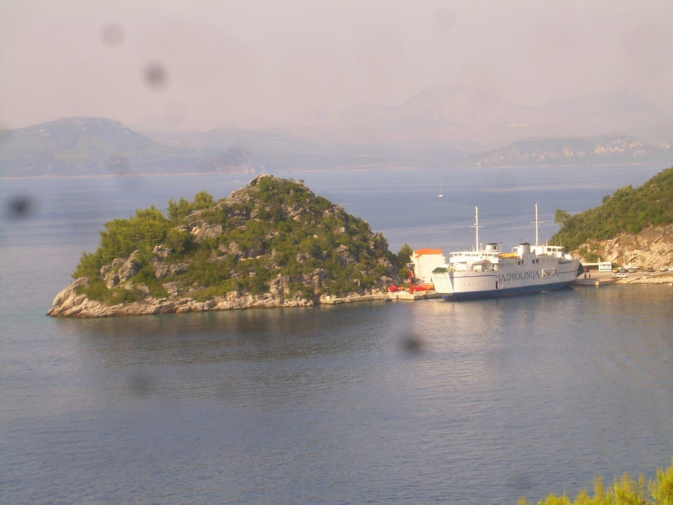 Mar en Ferry a Mljet