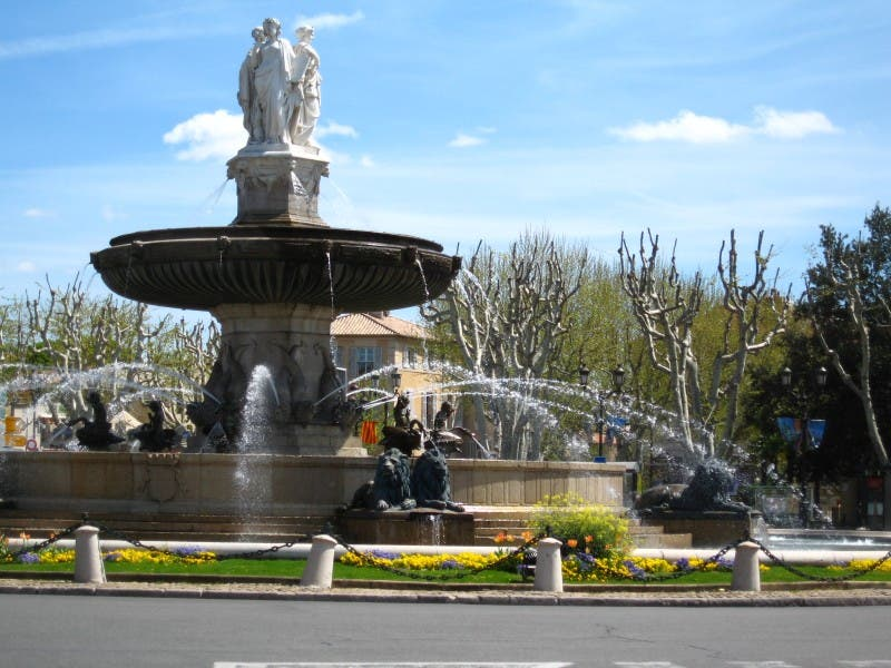 Square in Aix-en-Provence