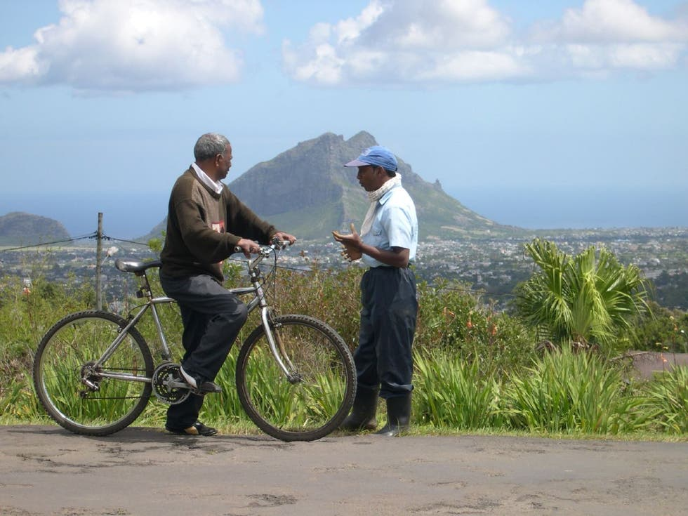 Bicicleta en Port Louis