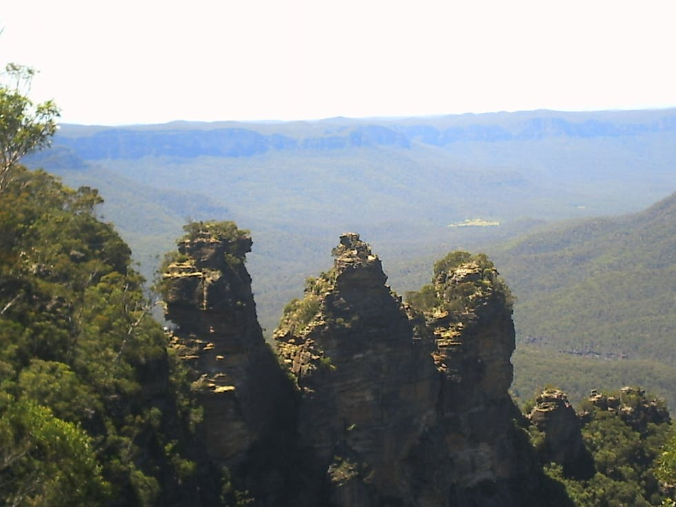 Naturaleza en Parque nacional Blue Mountains