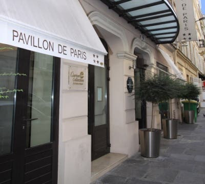 Transporte en Hotel Pavillon de Paris