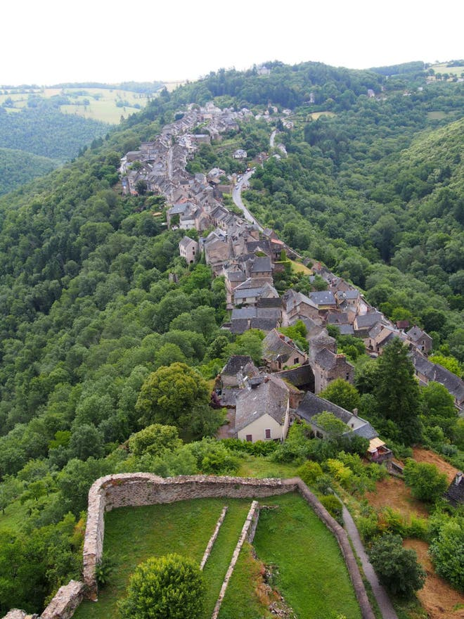 Bird's Eye View in Najac
