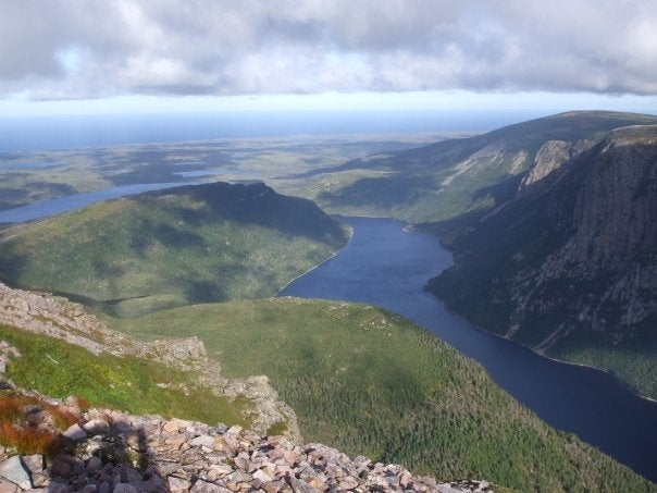 Mountain in Newfoundland and Labrador