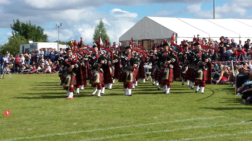 Deportes en Stirling Highland Games 2015