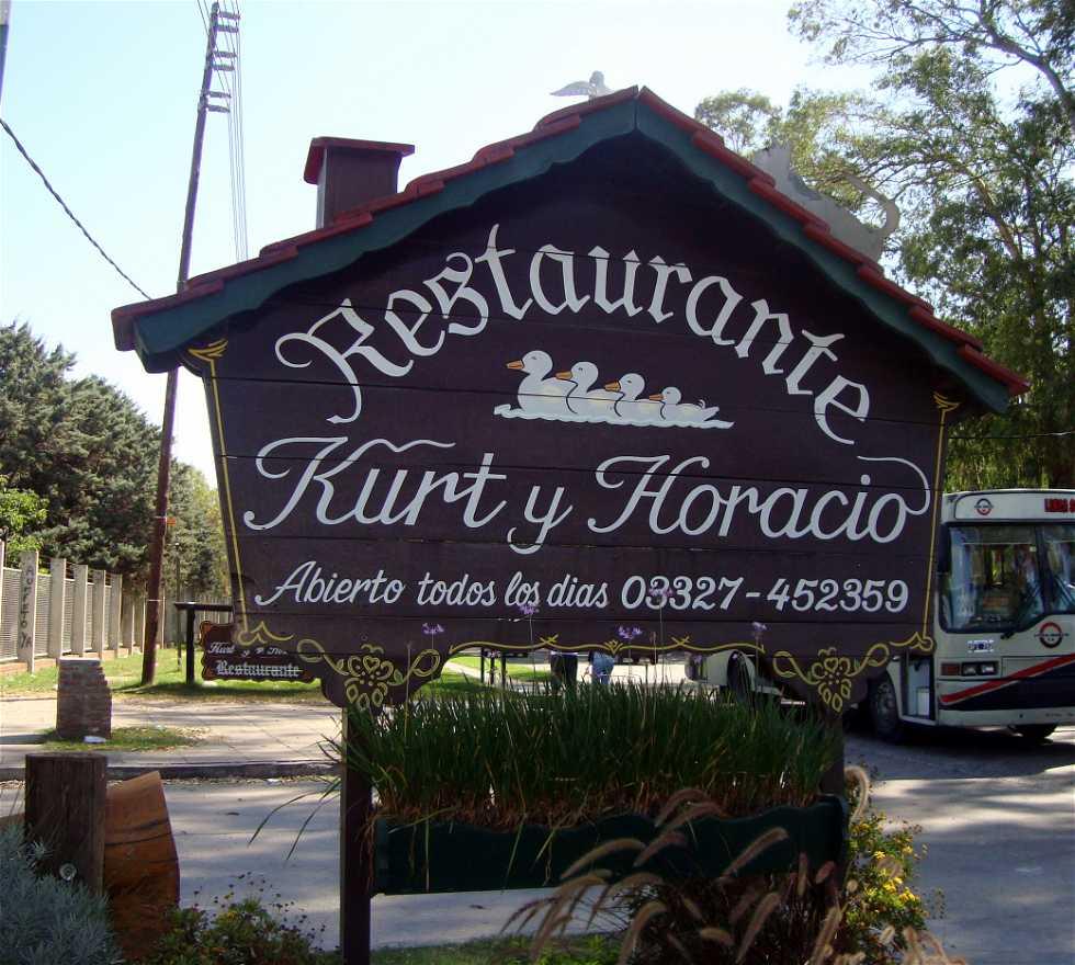 Restaurante en Kurt y Horacio