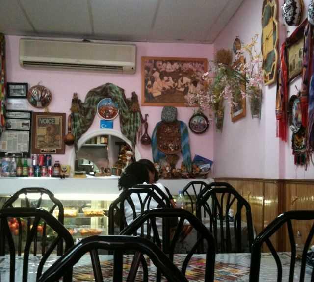 Ciclismo en Kashkar Cafe