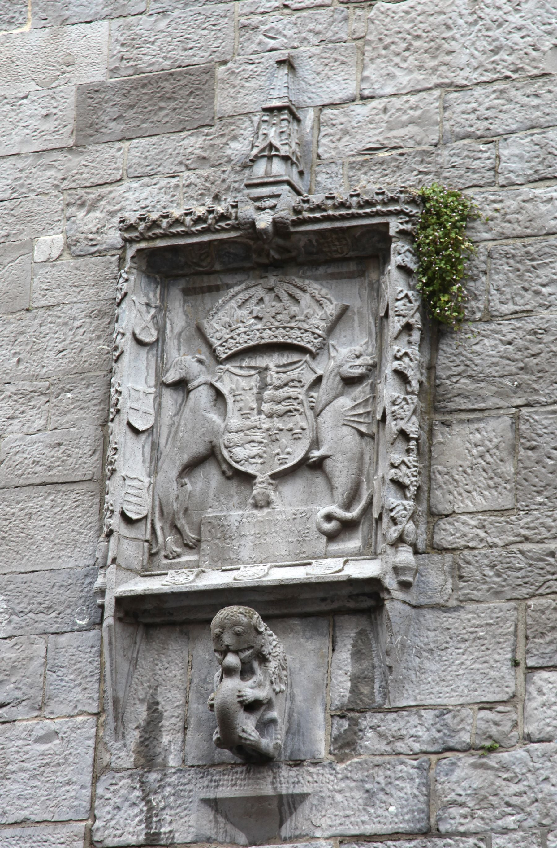 Carving in Lynch's Castle