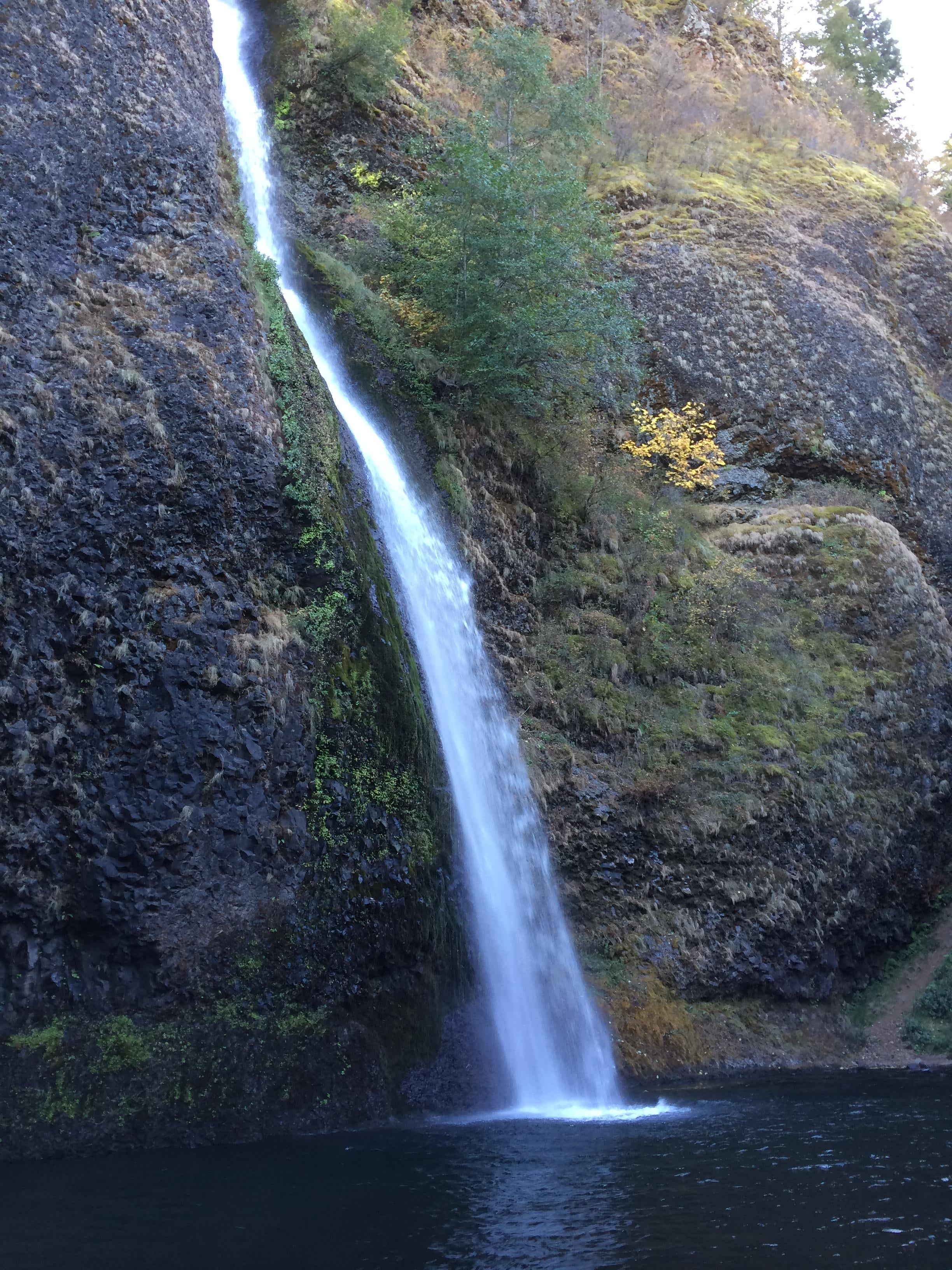 Waterfall in Cascade Locks