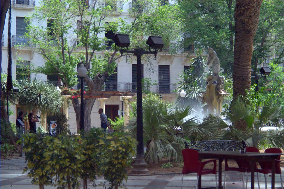 Patio en Plaza Gabriel Miró