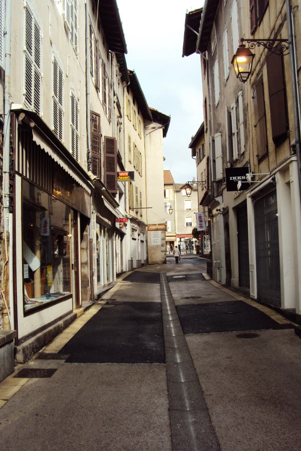 Street in Aurillac