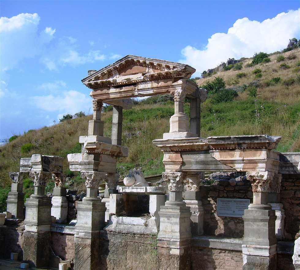Monumento en Fuente de Trajano