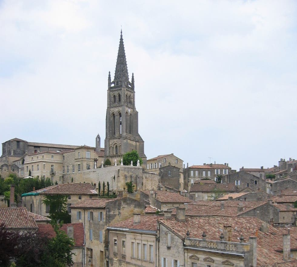 Church in Saint-Émilion