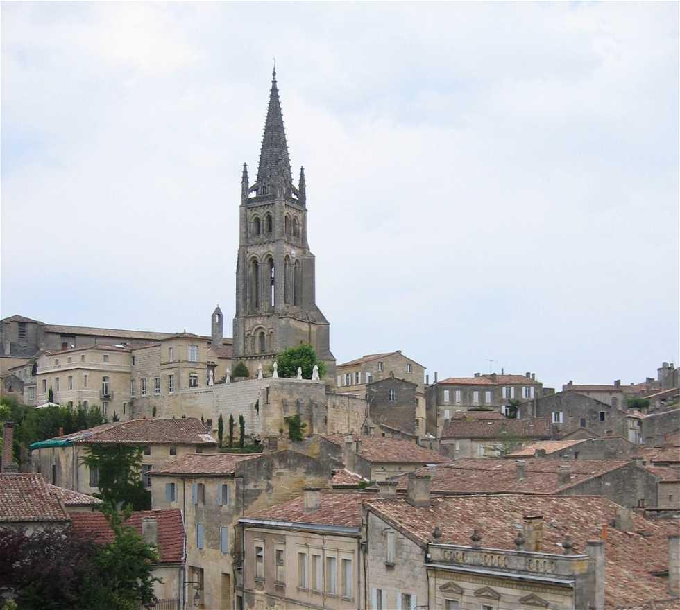 Iglesia en Saint-Émilion