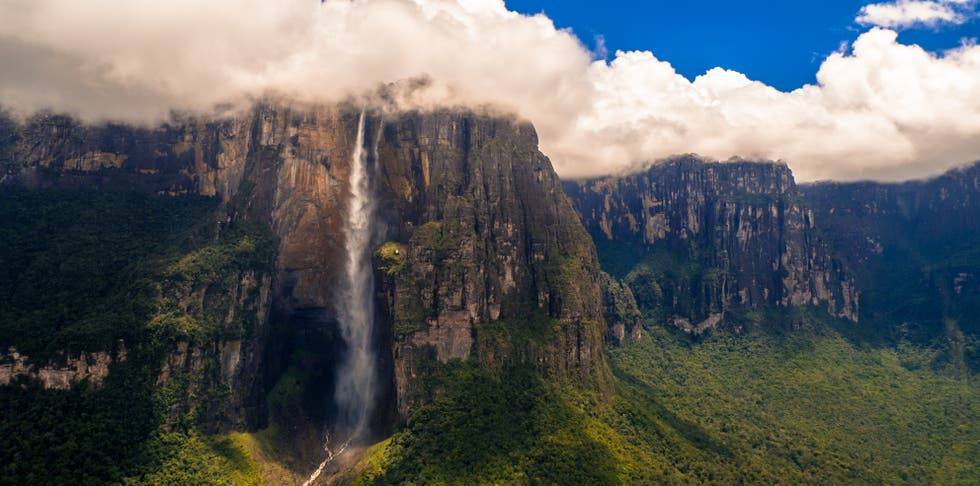 Mountain Range in Canaima
