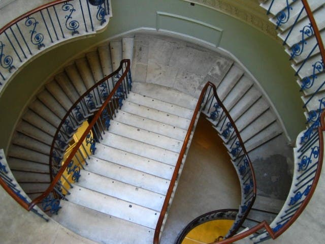 Escalera en Somerset House