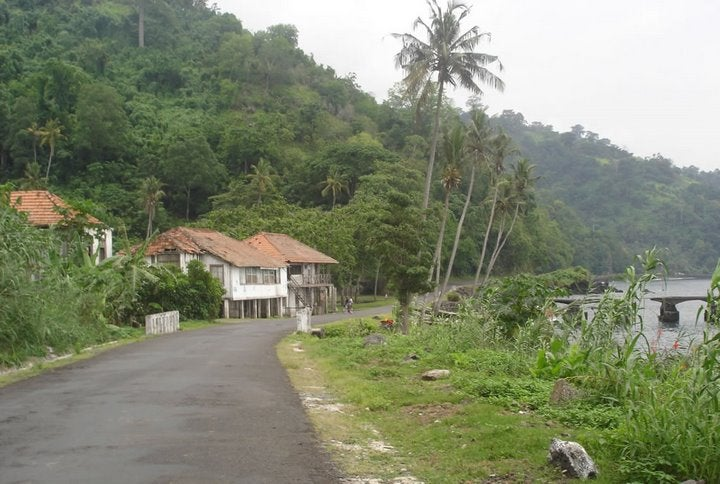Rural Area in São Tomé and Príncipe