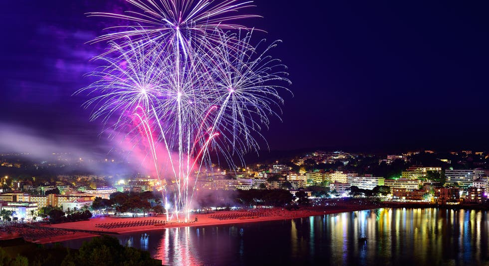 New Year in Cala Fornells