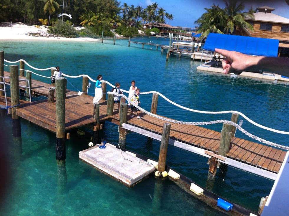 Dock in Nassau