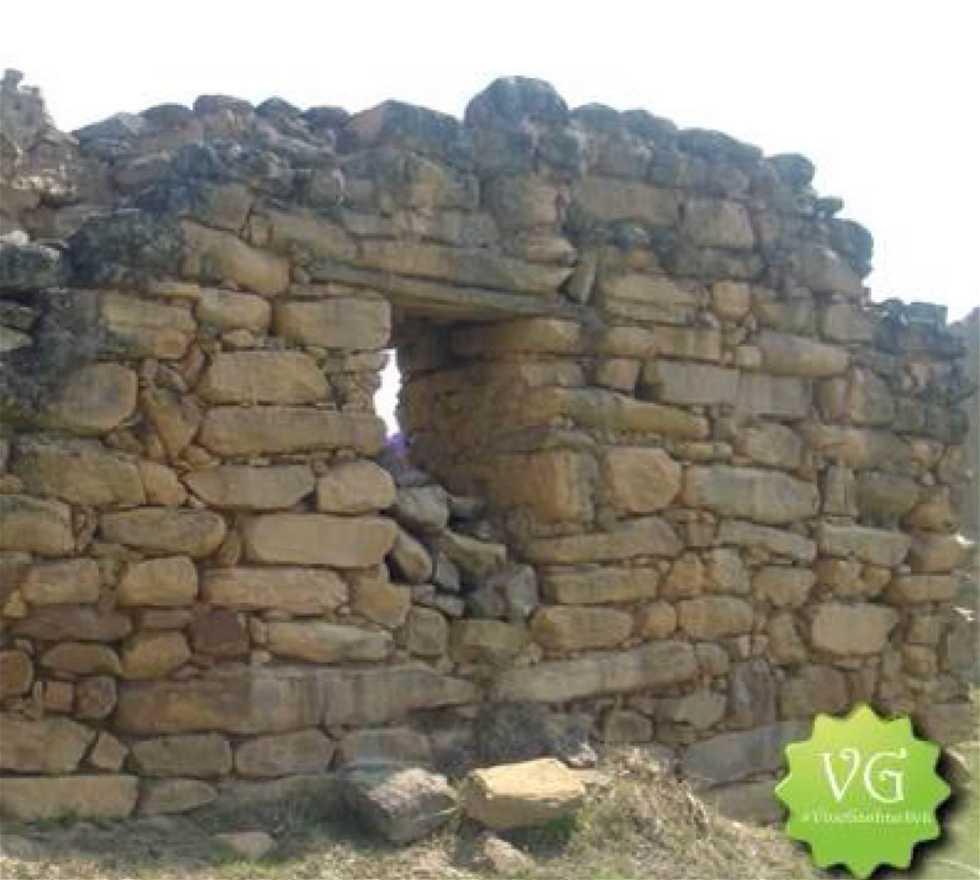 Pared de piedra en Gachantiva