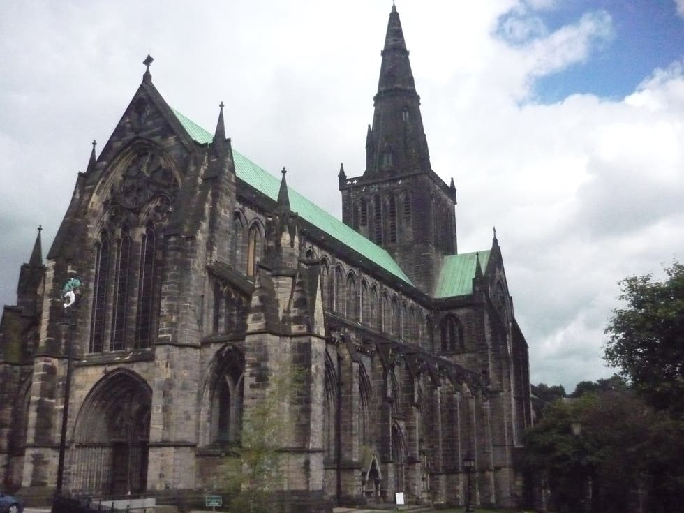 Capilla en Catedral de Glasgow - High Kirk