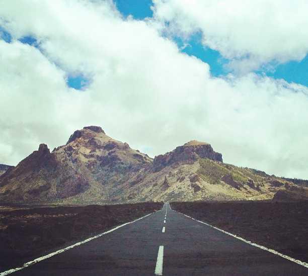 Montaña en Subida al pico del Teide