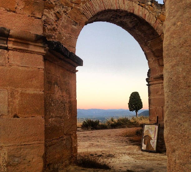Historia antigua en Mirador de Santa Bárbara La Fresneda