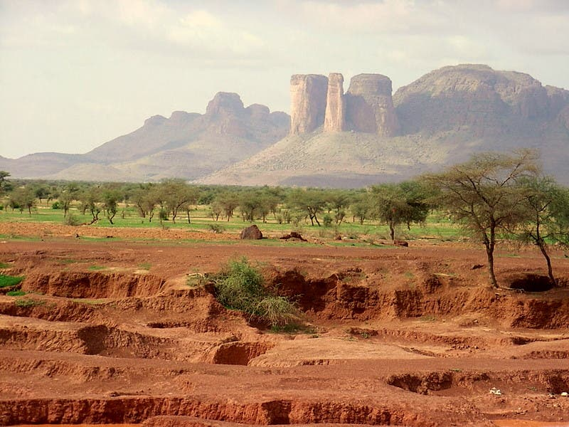 Badlands in Guinea